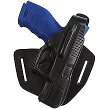 Pistolera VlaMiTex, 100% de cuero, para pistolas Hekler und Koch SFP9, VP9 y HK