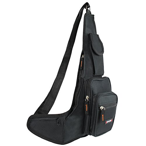 Bauchtasche Gürteltasche schwarz Bag Tasche Hüfttasche T005-T007 (T006 Grau) T006 Schwarz