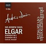 Elgar: Symphonies 1 & 2, Froissart Ove. Op.19 (Philharmonia Orchestra/Davis)
