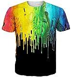 Goodstoworld 3D balu Print T Shirt Herren Damen Sommer Lustige Beiläufige Kurzarm Aufdruck T-Shirts Tee Top XL