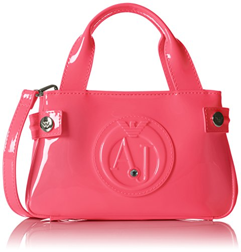 Armani Jeans Shoes & Bags DE Damen 0529D55 Clutches, Elfenbein (FUXIA PC), 5x12x20 cm -