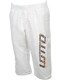Lotto - Devin iv white pants mid - Pantacourt bermuda