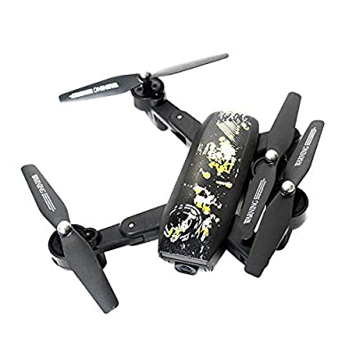 Drone with WiFi camera aerial shooting Six-axis gyroscope four-axis aircraft 360° rotating foldable Portable one-button take-off drone One-touch landing