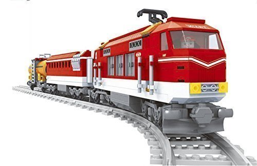 Train-Set-Tanker-Electric-Swiss-Style-Railway-City-Creator-8-Tracks-NEW-25807