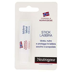 Neutrogena 23187Idratante per labbra formula norvegese con fattore di protezione SPF4