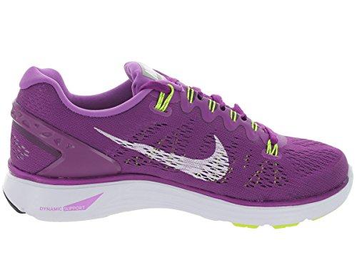 Nike Lunarglide+ 5, Scarpe da Corsa Donna Viola (Purple/white)