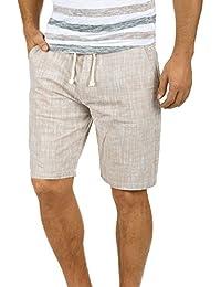 Juqilu Hombre Pantalones Cortos Deportivos - Bermudas Pantalones cortos con cordón Moda Cintura Elástica Pantalón de Chándal con… vb84G