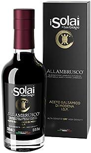 ALLAMBRUSCO - Aceto Balsamico di Modena I.G.P. ottenuto da monovitigni Lambrusco in purezza