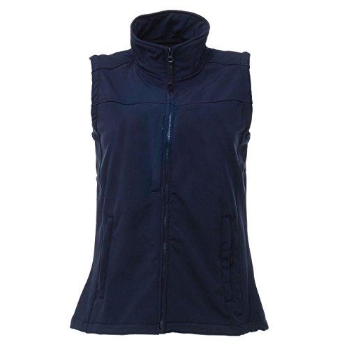 Regatta Damen Softshell-Gilet / Softshell-Weste Flux Marineblau/Marineblau
