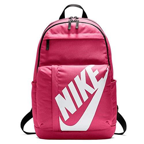 Nike Nk Elmntl Bkpk Mochila, Unisex adultos, Multicolor (Watermelon/Black/Whi)