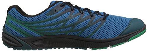 Merrell Bare Access 4, Chaussures de Running Compétition Homme Bleu (Mykonos Blue)
