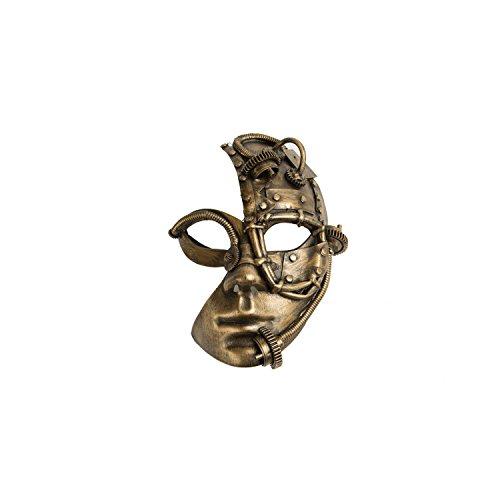 viving Kostüme viving costumes204851Steampunk Maske (One Size)