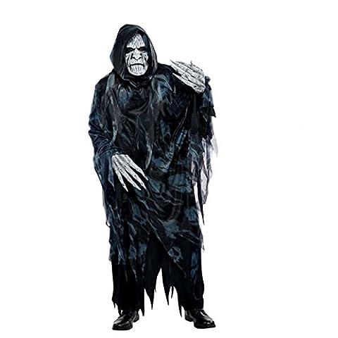 Preneur de Soul adulte Halloween Costume Déguisement Grande Faucheuse Mort