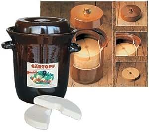 Steinzeug-schmitt pot à choucroute 5 l