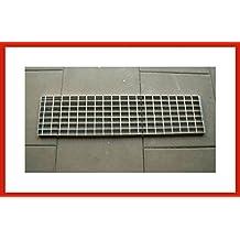 Gitterrost Laufrost Stahl 100 cm Verzinkt 25 cm breit in 42 bis 200 cm L/änge