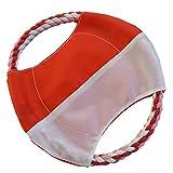 C.S. Doge World 034 Frisbee Seil mit Nylon Apportierspielzeug 23