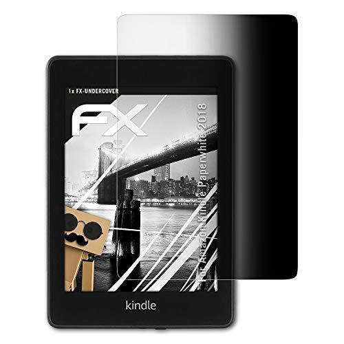 atFolix Blickschutzfilter kompatibel mit Amazn Kindl Paperwhite 2018 Blickschutzfolie, 4-Wege Sichtschutz FX Schutzfolie