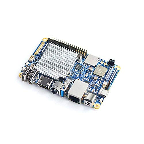 youyeetoo NanoPC-T4 with Rockchip RK3399 & Dual-Channel 4GB LPDDR3 and 16GB  eMMC 5 1 Flash & Native Gigabit Ethernet & dual antenna interface, support