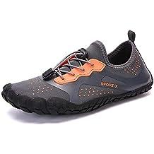 ea9aa917adf30 DoGeek Escarpines Antideslizante Secado Rápido Zapatos de Agua para Snorkel  Zapatillas de Deporte Exterior Mujer y