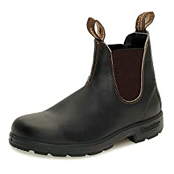 blundstone original stout brown premium leather boots 500 series - 41a4Qm3gkrL - Blundstone Original Stout Brown Premium Leather Boots 500 Series