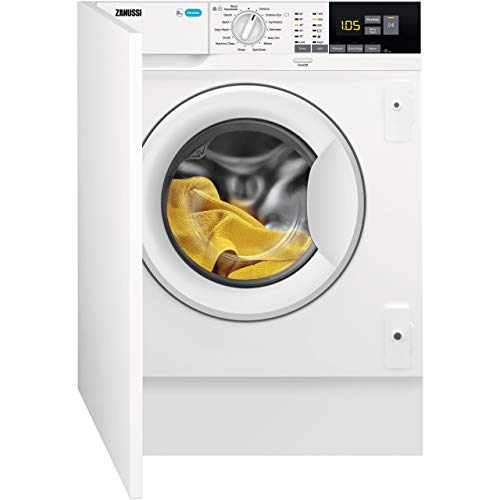 Zanussi Z814W85BI Rated Built-In Washing Machine - White