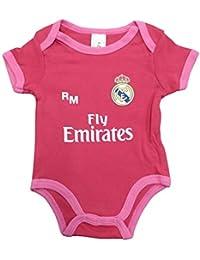 Real Madrid FC Body Niños - Producto Oficial Tercera equipación 2018/2019 - Personalizable -
