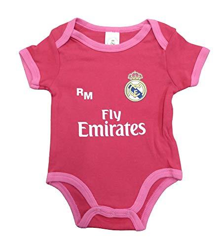 Real Madrid FC Body Niños - Producto Oficial Tercera equipación 2018