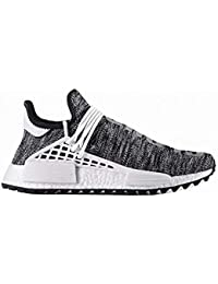 release date 1faef 97686 Men s Casual Breathable Lightweight Trail Human Race Pharrell Shoes Free  Fashion Sneakers Gray EU42