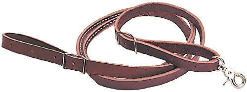 Colorado-Saddlery The Roping Rein Latigo Easy Grip Snap