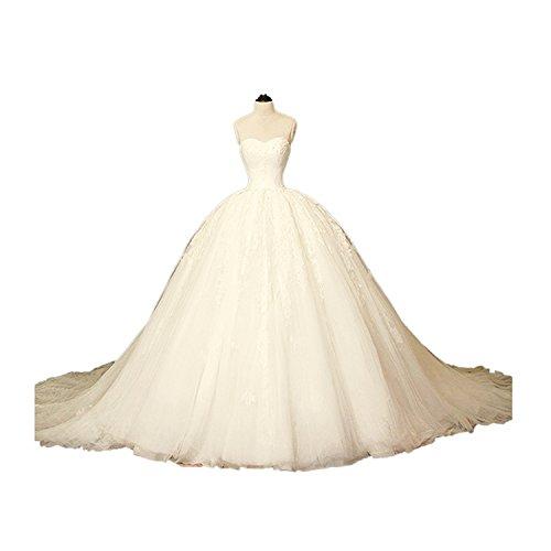 CoCogirls Prinzessin Ballkleid Hochzeitskleider Aschenputtel Brautkleider Hochzeit Kleid Bridal...