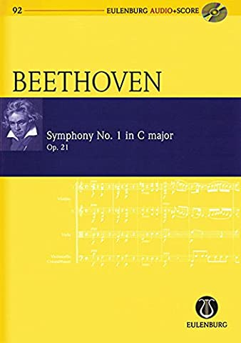 Symphony No.1 in C Major, Op.21 - Eulenburg Audio+Score - orchestra - study score with CD - (EAS
