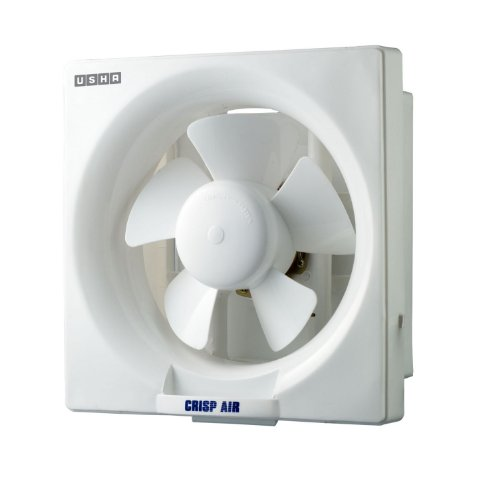 Usha Crisp Air 250mm Exhaust Fan (White)  available at amazon for Rs.1249