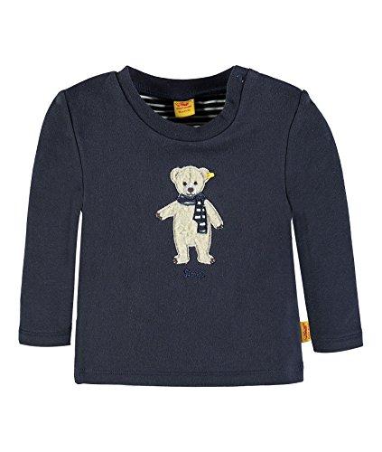 Steiff Jungen Sweatshirt 1/1 Arm, Blau (Marine 3032), 56