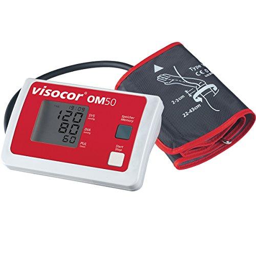 ruckmessgerät Oberarm mit Universal-Bügelmanschette (22-43cm) zur vollautomatischen Messung von Blutdruck und Puls ()
