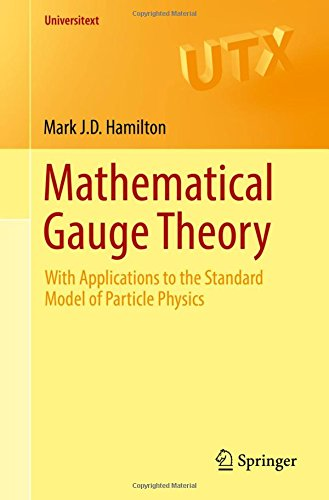 Mathematical Gauge Theory: With Applications to the Standard Model of Particle Physics (Universitext)