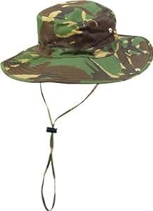 Green Camo Hat - Great Australian Style Fishing or Sun Hat