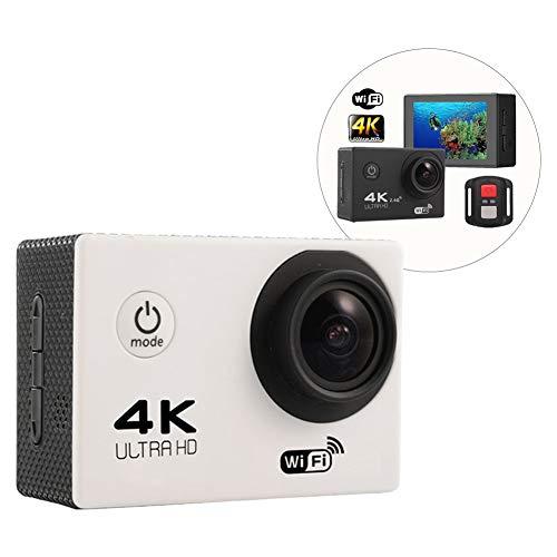 Traioy Mini 4K 2,0 Zoll Wasserdichte WiFi-Sportkamera Sport DV voller HD 1080P 12MP 170 ° Weitwinkel-Sport-Action-Kamera,B