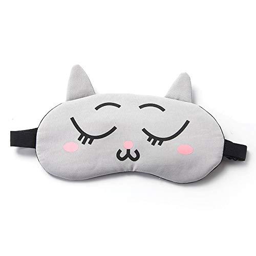 WEINANA Cartoon Augenmaske Schlaf Schattierung Atmungsaktive Weibliche Kreative Koreanische Persönlichkeit Eisbeutel Kalt Heißer Schlaf Schlafaugenmaske