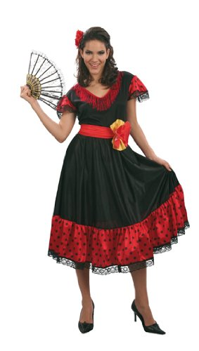 Femme Kostüm Flamenco - Déguisement Flamenco FEMME adulte