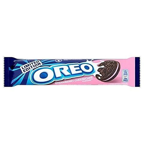 Oreo Strawberry Cheesecake Biscuits