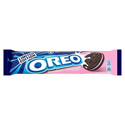 Oreo Erdbeerekäsekuchens Biskuits 154G (Packung mit 6)