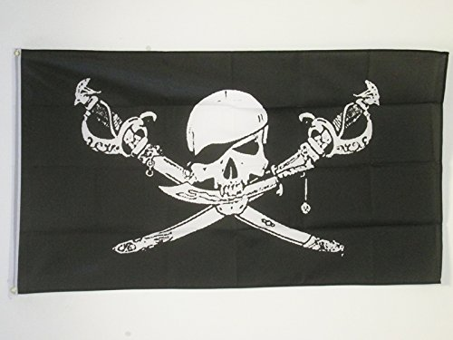 AZ FLAG Bandera Pirata Brethren of The Coast 150x90cm - Bandera...