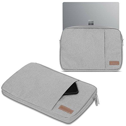 Odys Winbook 13 Hülle Tasche Notebook Schutzhülle Schwarz / Grau Cover 13,3 Case, Farbe:Grau