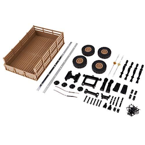 DIY RC Car Kit Teile Für WPL B1 B14 B16 B24 Auto Lkw Montage Kinder Spielzeug - Gelb