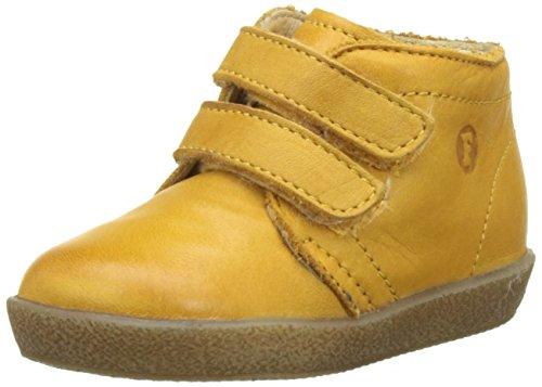 falcotto lauflernschuhe Falcotto Unisex Baby 1195 VL Sneaker, (Gelb), 23 EU
