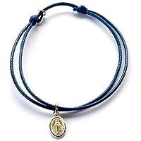 Bracelet mini Médaille Miraculeuse argent 925, Vierge Miraculeuse, réglable, Taille adulte OU Taille enfant, Bracelet…