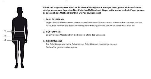 Strellson Premium Herren Anzughose 11000317 L-James Schwarz