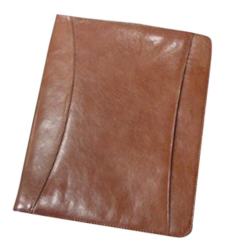 bellino-cowhide-leather-zip-around-pad-organizer-cognac-by-superdeals-store