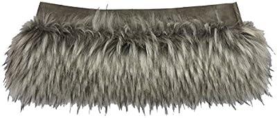 Trim cenefa piel sintética umrandung universal ZB o Bag Classic Wind perro gris
