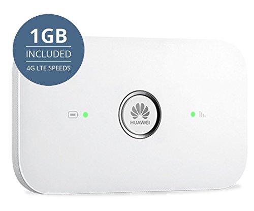 keepgo Global Lebenslange 4G/LTE MOBILE WIFI HOTSPOT für Europa, Asien und Amerika + 1GB, schwarz